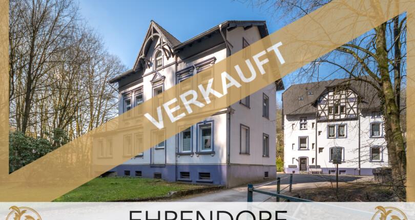 VERKAUFT – Zwei Mehrfamilienhäuser…