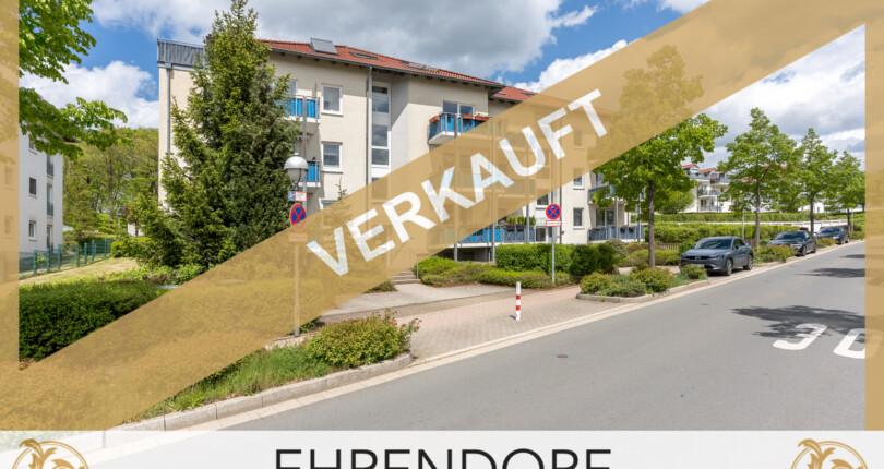 VERKAUFT ! Vogelberg: Lichtdurchflutete 3-Zi.-Wohnung mit Dachterrasse